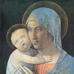 Madonna con il Bambino,  A. Mantegna