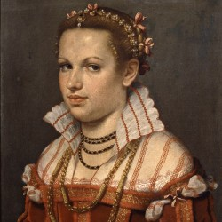 RItratto di Isotta Brembati Grumelli 1550-1555