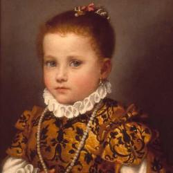 RItratto di bambina di casa Redetti 1570-1573