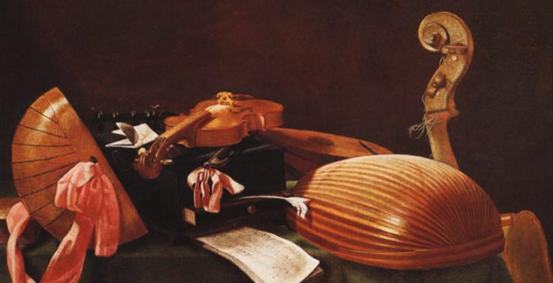NATURA MORTA CON STRUMENTI MUSICALI E.BASCHENIS