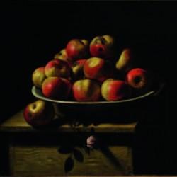 Piatto di mele, E. Baschenis