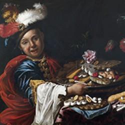 Paggio con dolci, Maestro dei dolciumi (dettaglio)