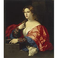 """Ritratto di donna, detta """"La Bella"""""""