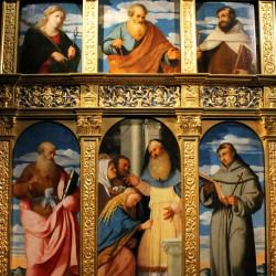 Polittico della Presentazione della Vergine (particolare)