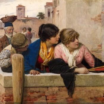 Luigi Da Rios, Le curiose di Venezia (particolare)