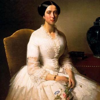 Ritratto della nobildonna Vittoria Cima della Scala, Eliseo Sala