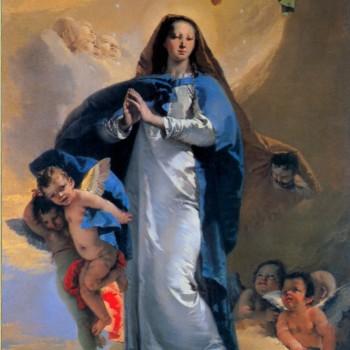 Pala dell' Immacolata Concezione, Giambattista Tiepolo