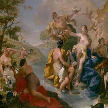 Diana e le ninfee, Giambattista Pittoni