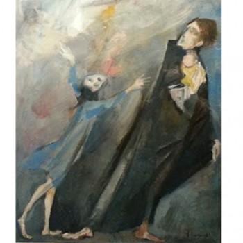 Madre con bambina che grida
