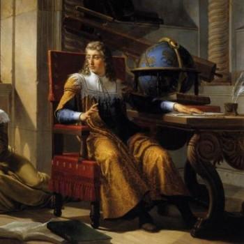 Newton osserva la rifrazione della luce attraverso le bolle di sapone,Pelagio Pelagi