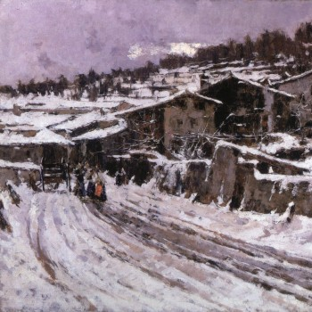 Nevicata, Francesco Filippini