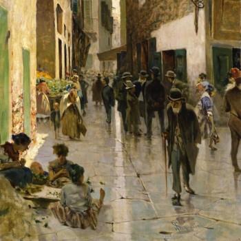 Il ghetto di Firenze, Telemaco Signorini