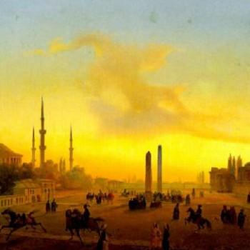 L'Ippodromo di Costantinopoli, Ippolito Caffi