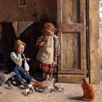 Beffe al gatto, Gaetano Chierici