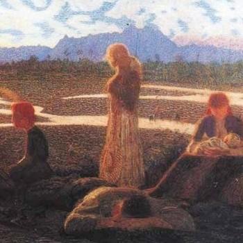 Membra stanche o famiglia di emigranti, Pellizza da Volpedo