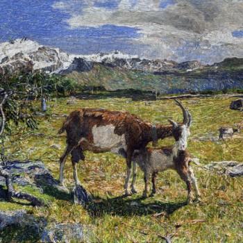 Alpe di maggio, Giovanni Segantini