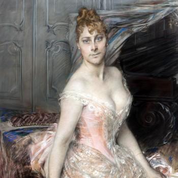 Ritratto della baronessa Malvina Marie Vitta, Giovanni Boldini