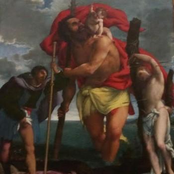San Cristoforo tra i Santi Rocco e Sebastiano