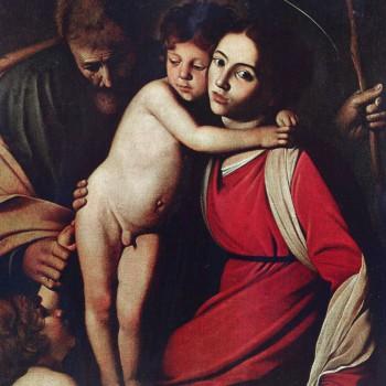 Sacra Famiglia con S Giovannino