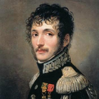 Fig 1- Ritratto del generale Teodoro Lechi colonnello dell Guardia Reale dell'Esercito Italico