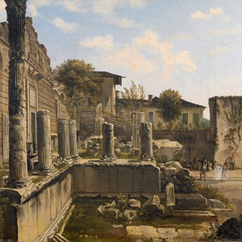 Fig 5- Il Capitolum dopo gli scavi, Luigi Basiletti