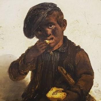 Fig 7- Il piccolo spazzacamino, Angelo Inganni