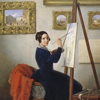 Fig 8- Ritratto di Amanzia Guèrrillot, Angelo Inganni