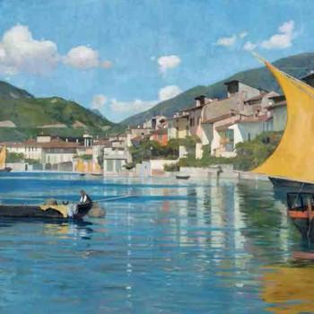Fig 11-Veduta del Golfo di Salò, Cesare Bertolotti