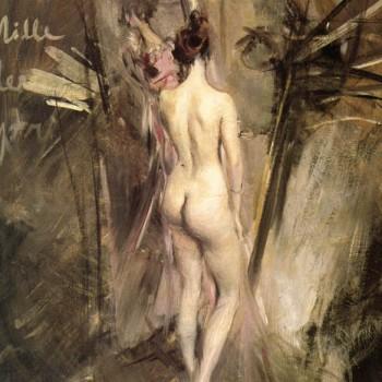 Fig 13- Nudo visto di schiena, Giovanni Boldini