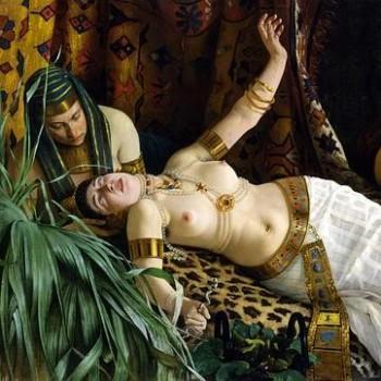 Fig 17- La morte di Cleopatra, Achille Glisenti