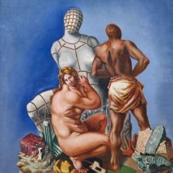 Fig 20- Otello e Desdemona, Alberto Savinio