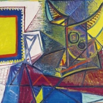 Fig 24- Natura morta con testa di toro, Pablo Picasso
