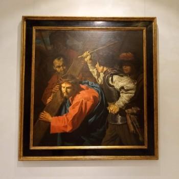 Fig.5- Cristo portacroce aiutato da Simone di Cirene, Matthias Stom