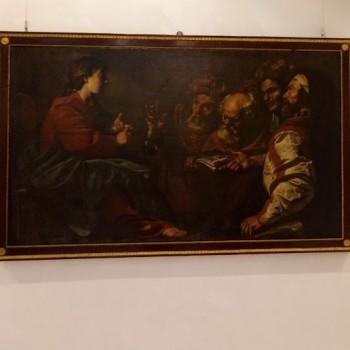 Fig.6- Cristo tra i dottori, Matthias Stom