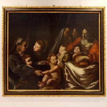 Fig.7- Ritratto di famiglia dell'artista, Giovanni Lanfranco