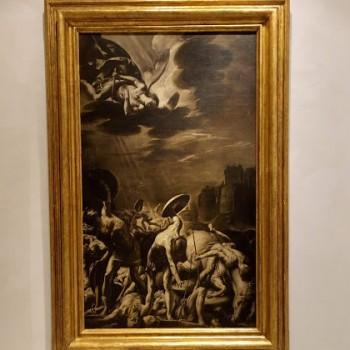 Fig.9- Antonio d'Enrico, detto Tanzio da Varallo, Battaglia di Sennacherib