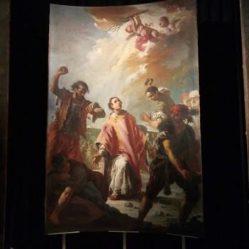 Fig. 16- Maritrio di Santo Stefano