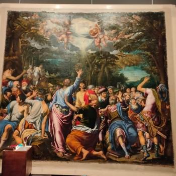 Fig-2 Simone Peterzano, Vocazione dei Santi Paolo e Barnaba