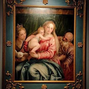 Fig -5 Paolo Veronese, Madonna con il Bambino e i Santi Pietro e Caterina d'Alessandria
