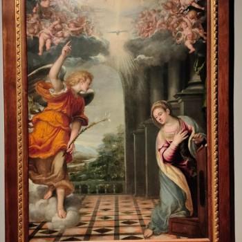 Fig-6 Simone Peterzano, Annunciazione