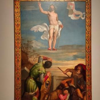 Fig-8 Tiziano Vecellio, Resurrezione di Cristo