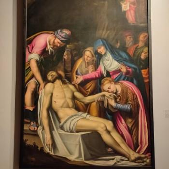 Fig-18 Simone Peterzano, Compianto su Cristo morto