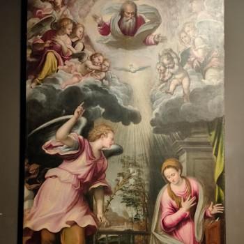Fig-19 Simone Peterzano, Annunciazione