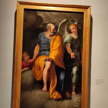 Fig-20 Ambrogio Figino, San Matteo e l'angelo