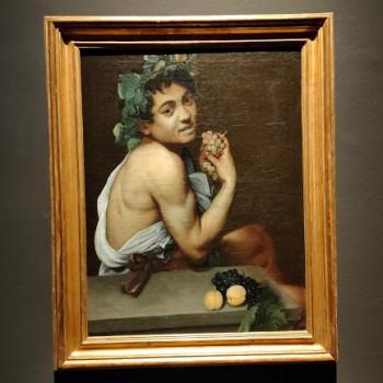 Fig 22 Caravaggio, Autoritratto in veste di Bacco