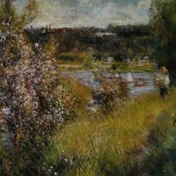 A.Renoir, La Seine à Chatou